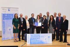 """Preisverleihung Wettbewerb """"Kommunaler Klimaschutz 2015"""""""